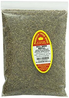 Marshalls Creek Spices Dill Seed Seasoning Refill, 10 Ounce from Marshall?s Creek Spices
