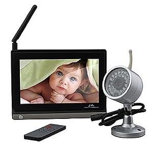BW ® Baby Monitor Vigilabébés con Pantalla - Wireless, 7 pulgadas con pantalla ancha LCD, visión nocturna inalámbrica de la cámara + Mando a distancia por BW - BebeHogar.com