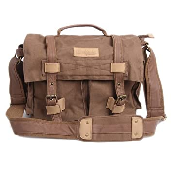 Vintage Casual Canvas Backpack Shoulder Bag Rucksack 90