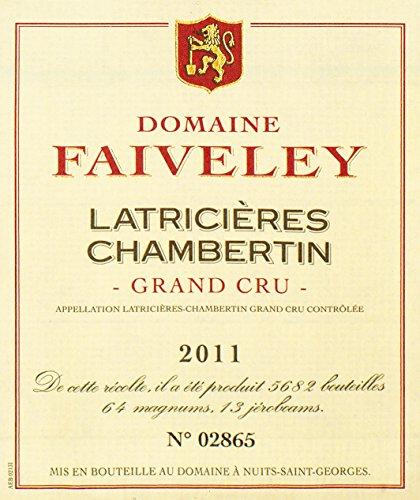 2011 Joseph Faiveley - Latricieres Chambertin Grand Cru Burgundy 750 Ml