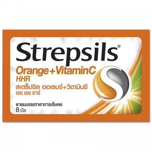 Strepsils Orange With Vitamin C Lozenge 8 Tablets (6 pack) (C Candy Crush Soda compare prices)