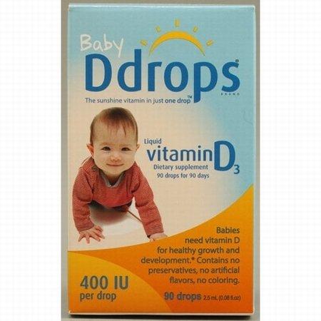 Ddrops Company Baby Ddrops® 400 IU 90 drops
