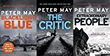PETER MAY Peter May 3 Book set collection An Enzo Macleod Investigation series Blacklight blue The Critic & Extraordinary People