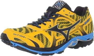 Mizuno Men's Wave Elixir 7 Running Shoe,Saffron/Anthracite/Fluorite,15 D US