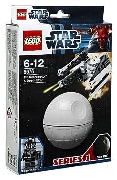 Lego Star Wars - 9676 - Jeu de Construction - Tie Interceptor et Death Star