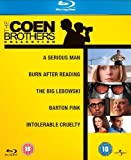 Coen Brothers Complete Essential Movie Collection (6 Discs) Blu Ray Film Box Set: A Serious Man / Burn After Reading / The Big Lebowski / Hudsucker Proxy / Barton Fink / Intolerable Cruelty + Extras