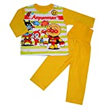 アンパンマン パジャマはらまき付き 長袖パジャマ 男の子 女の子 ANPANMAN (イエロー-100) ランキングお取り寄せ