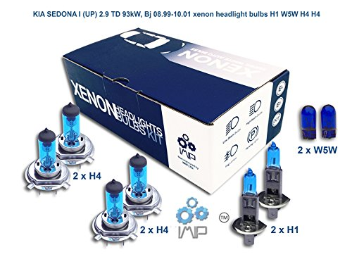 kia-sedona-i-up-29-td-93kw-bj-0899-1001-lampadine-allo-xenon-h1-w5w-h4-h4