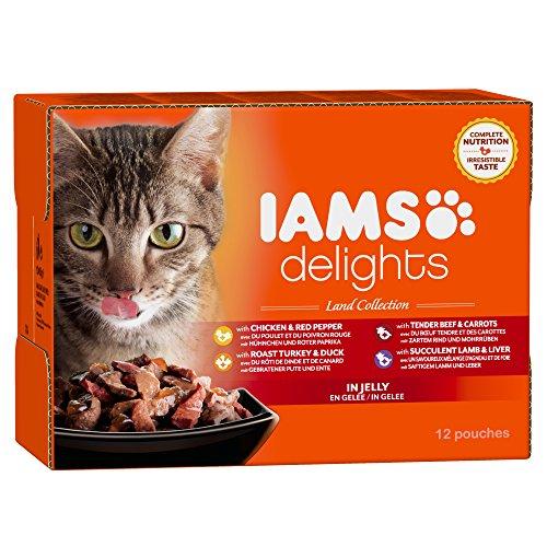 iams-delights-land-collection-nassfutter-fur-erwachsene-katzen-mit-verschiedenen-fleisch-sorten-in-g