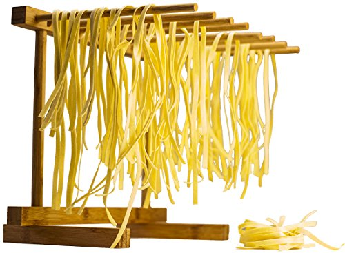 Bamboo Collapsible Pasta Drying Rack By Culinary Chief (Chief Cooking compare prices)