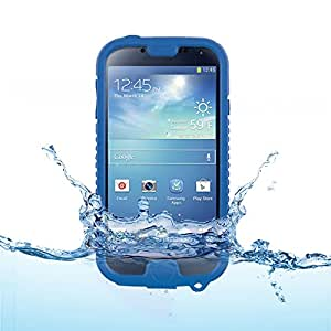 Naztech Vault Waterproof Cover for Galaxy S4 - Blue - Retail
