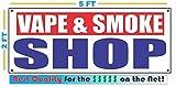 VAPE & SMOKE SHOP Banner Sign