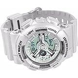 Mens Silver Shock Resistant Watch Sports Look Analog & Digital Display Brand New