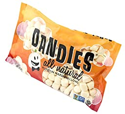 New! DANDIES All Natural Pumpkin Flavored Marshmallows! Two (2) Pack
