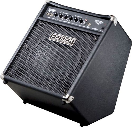 Fender Rumble 30 30-Watt 1X10-Inch Bass Combo Amp - Black