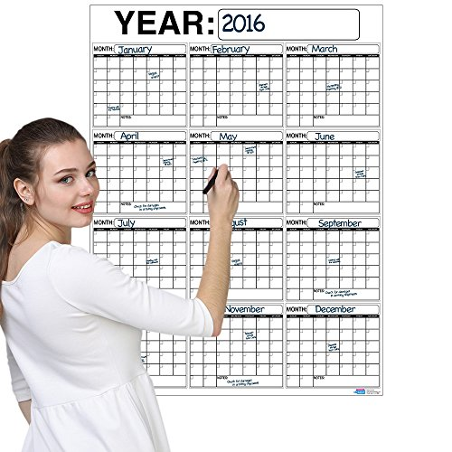 Calendar Planner Php : Best oversized month dry erase wall calendar planner
