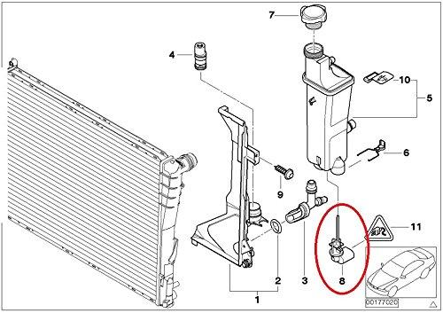 Genuine Bmw E46 325I 330I M3 Coolant Levelling Switch Sensor 17137553919
