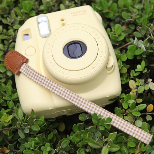 Ciesta CSSFWS12 Fabric Leather Wrist Strap (Picnic Brown) for Toy Point and Shoot Digital Mirrorless Camera Smartphone Portable Game Console Nintendo PSP Picture
