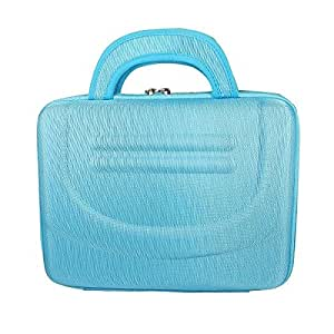 "Light Blue 10"" 10 Inch Laptop Notebook Tablet Hard Carry Case Bag For Sony HP Dell Tablet"