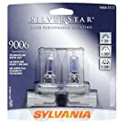Sylvania 9006 ST SilverStar High Performance Halogen Headlight Bulb (Low Beam), (Pack of 2)
