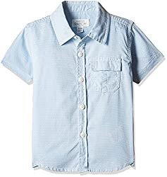 Pumpkin Patch Boys' Shirt (S5TB15011_Clean White_4)