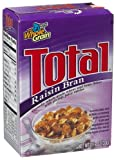 General Mills Total Raisin Bran Cereal, 0.187-Ounce Single Packs (Pack of 70)