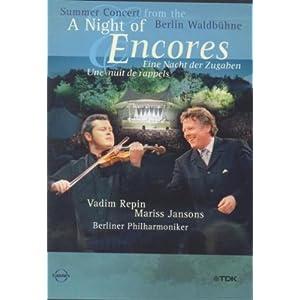 فروش کنسرت موسیقی کلاسیک  A Night Of Encores شب موسیقی ,Mariss Jansons ,Berlin Philharmonic Orchestra