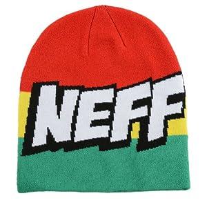 Neff Men's Cartoon Beanie - Rasta, One Size