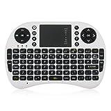 Mini Keyboard UKB-500-RF 2.4G ワイヤレス Mini タッチパッドを搭載した キーボード 92キー付きバックライト機能