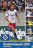 HSV Posterkalender 2014: Jahresübersicht 2014 mit Spielergeburtstagen