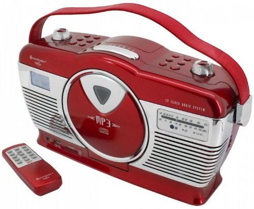 BigBen Interactive CD46 Radio//Radio-r/éveil Lecteur CD