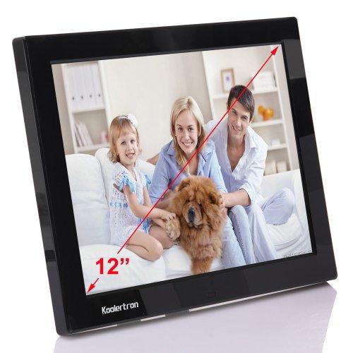 Koolertron 12.1 Inch Lcd Widescreen(4:3) Digital Photo Frame 1024*768 Resolution
