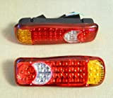 2�x LED hinten Schwanz Recovery Leuchten 24�V f�r LKW Chassis Truck Trailer Caravan f�r MAN, DAF, IVECO, Renault, Scania