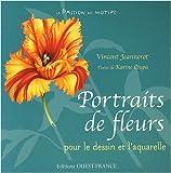 echange, troc Vincent Jeannerot, Karine Ciupa - Portraits de fleurs : Dessins et aquarelles