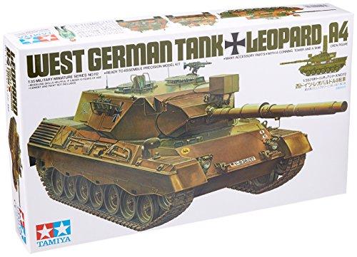 Tamiya-300035112-Plastikmodellbau-135-Bundeswehr-Leopard-1A4-1