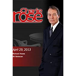 Charlie Rose -   Richard Haass; Ali Babacan (April 29, 2013)