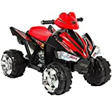 Best Choice Products Kids Ride On ATV Quad 4 Wheeler 12V Battery Power Electric4 Wheel Power Led Lights and Music