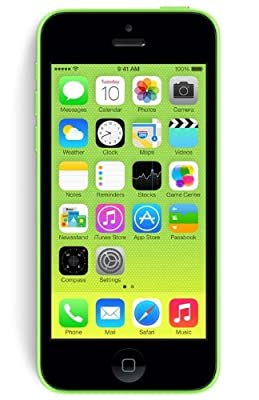 Apple iPhone 5C Smartphone (10,2 cm (4 Zoll) Retina Display, A6 Prozessor, 8 Megapixel Kamera, 32GB interne Speicher, iOS 7)