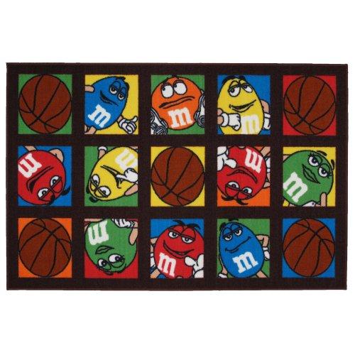 M & M's Basketball Area Rug 19