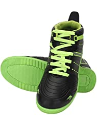 Indian Style Sneakers With Black With Green Sole Shoes For Unisex