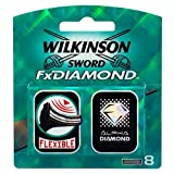 Wilkinson Sword Blades Fx Diamond 8 Pack