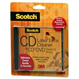 Scotch&reg; Laser Lens Cleaner For CD, DVD &amp; CD &amp; DVD ROM