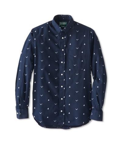 Gitman Vintage Men's Nautical Key Shirt