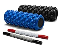 "Yes4All X-Firm 5"" x 14"" Deep Tissue Massage AccuPoint Roller"