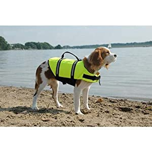 Paws Abroad Dog Life Jacket Large 50 - 90 Lbs - Yellow from Pet stores