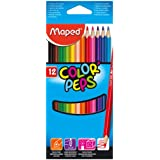 Maped Color Pencil Box Of 12