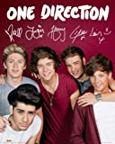 Posters: One Direction Mini Poster - 1D Kiss You, Autographs (20 x 16 inches)