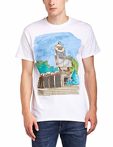 Neil Young - NEIL YOUNG - MOTEL, T-Shirt uomo, Weiß - Weiß, Large