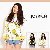 【JOY RICH(ジョイリッチ)】JOYRICH × The Simpsons Bart Face Jkt ジャケット