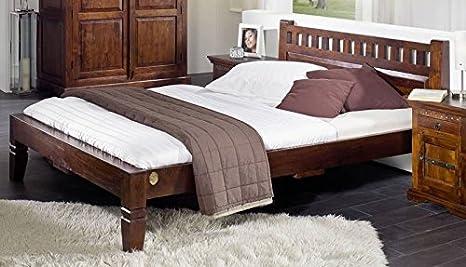 Cuna de madera de acacia maciza colonial 200 x 200 muebles OXFORD #231
